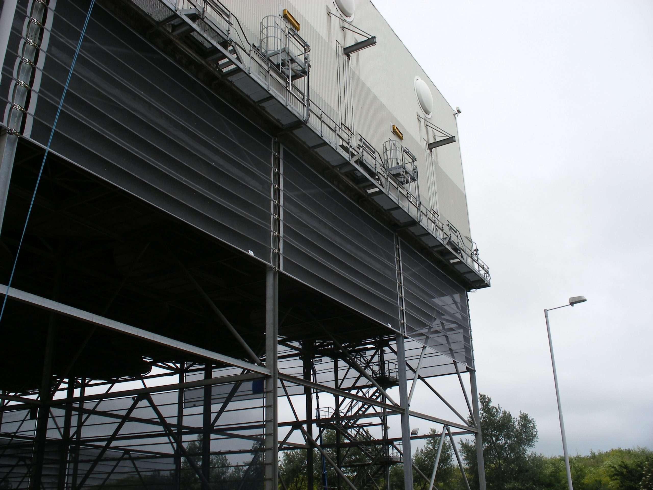 Windscreen installed at Kings Lyn