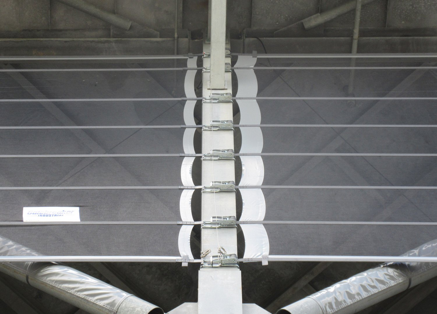 Close up image of Wind Screen Fastenings